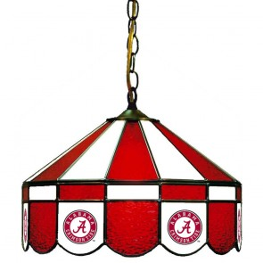 "Alabama Script A 16"" Swag Hanging Lamp"