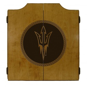 Arizona State MEDALLION SERIES Dart Cabinet