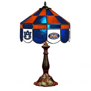 "Auburn AU and Eye of Tiger 14"" Executive Table Lamp"