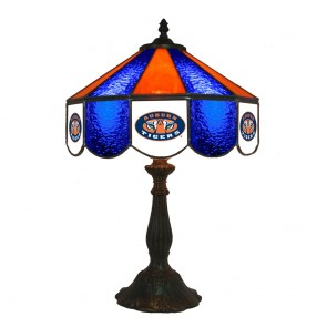 "Auburn Eye of Tiger 14"" Table Lamp"