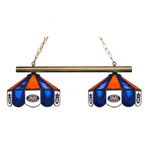 Auburn AU and Eye of Tiger 2-Light Game Table Light