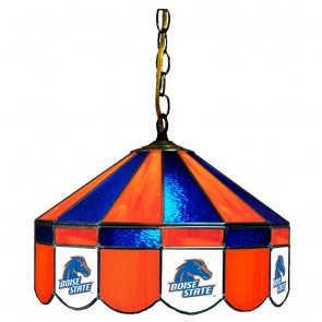"""Boise State 16"""" Swag Hanging Lamp"""