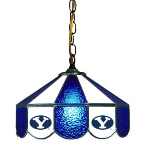 """Brigham Young 14"""" Swag Hanging Lamp"""
