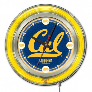 California 15-Inch Neon Clock