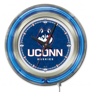 Connecticut 15-Inch Neon Clock