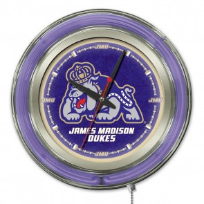 James Madison 15-Inch Neon Clock