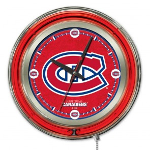 Montreal Canadiens 15-Inch Neon Clock