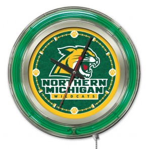 Northern Michigan 15-Inch Neon Clock