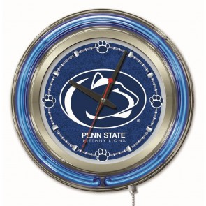 Penn State 15-Inch Neon Clock