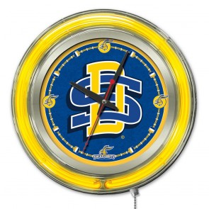South Dakota State 15-Inch Neon Clock