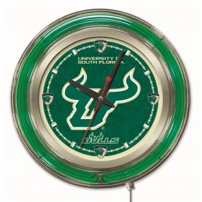 South Florida 15-Inch Neon Clock