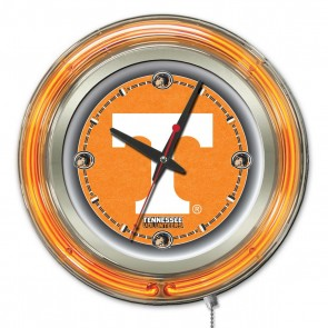 Tennessee 15-Inch Neon Clock