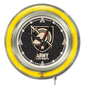 US Military Academy 15-Inch Neon Clock