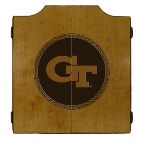Georgia Tech MEDALLION SERIES Dart Cabinet