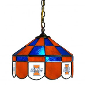 "Illinois 14"" Executive Swag Hanging Lamp"