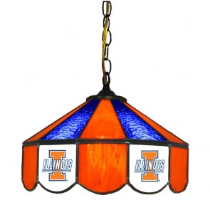 "Illinois 14"" Swag Hanging Lamp"