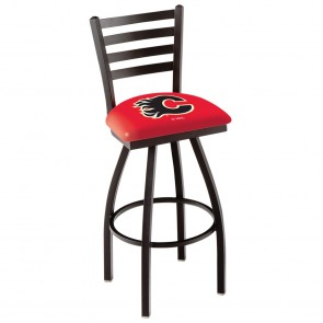 L014 Calgary Flames Bar Stool