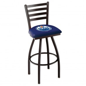L014 Edmonton Oilers Bar Stool