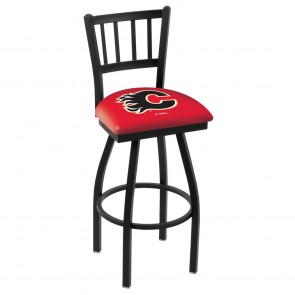 L018 Calgary Flames Bar Stool