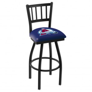 L018 Colorado Avalanche Bar Stool