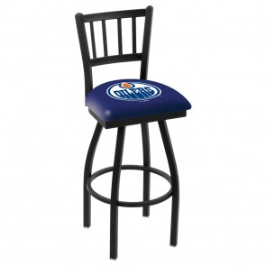 L018 Edmonton Oilers Bar Stool
