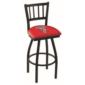 L018 Wisconsin Badger Bar Stool