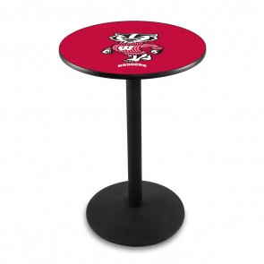 L214B Wisconsin Badger Pub Table