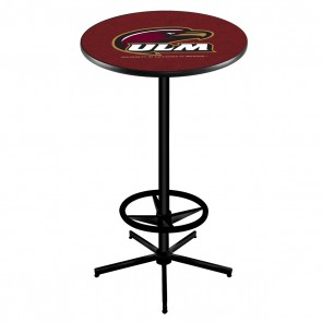 L216B Louisiana-Monroe Pub Table