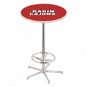 L216C Louisiana-Lafayette Pub Table