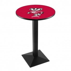 L217B Wisconsin Badger Pub Table