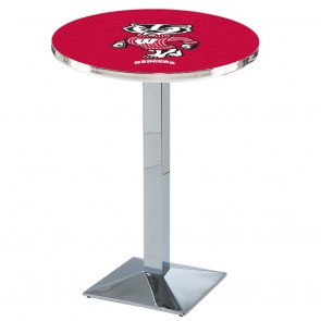 L217C Wisconsin Badger Pub Table