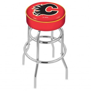 L7C1 Calgary Flames Bar Stool