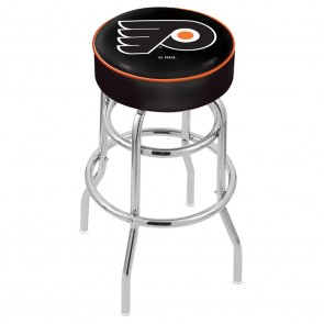 L7C1 Philadelphia Flyers Bar Stool w/Black Background