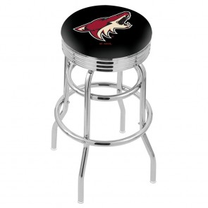 L7C3C Arizona Coyotes Bar Stool