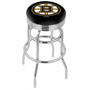 L7C3C Boston Bruins Bar Stool