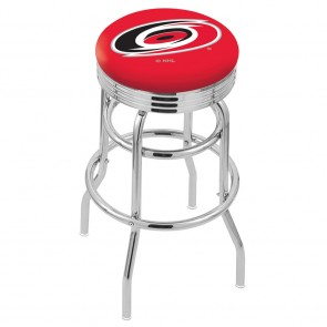 L7C3C Carolina Hurricanes Bar Stool