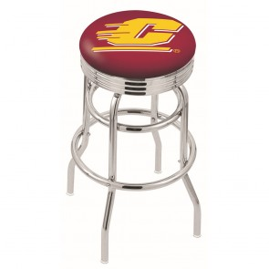 L7C3C Central Michigan Bar Stool