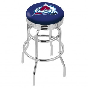 L7C3C Colorado Avalanche Bar Stool