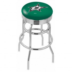 L7C3C Dallas Stars Bar Stool