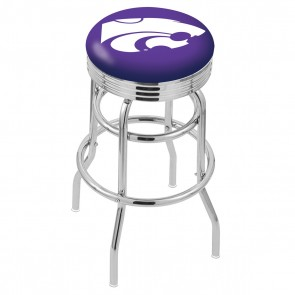 L7C3C Kansas State Bar Stool