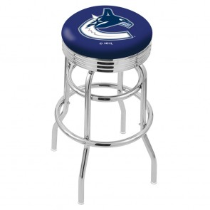L7C3C Vancouver Canucks Bar Stool