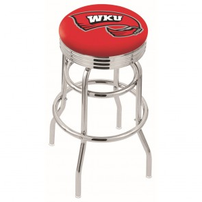 L7C3C Western Kentucky Bar Stool