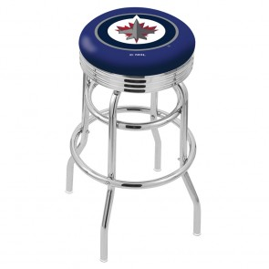 L7C3C Winnipeg Jets Bar Stool