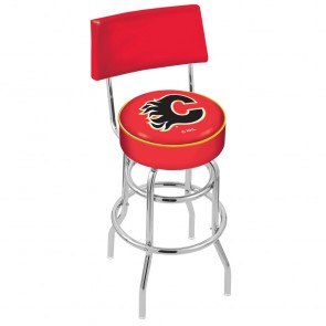 L7C4 Calgary Flames Bar Stool