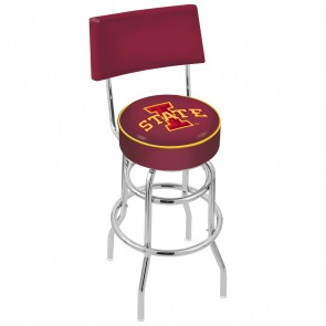 L7C4 Iowa State Bar Stool