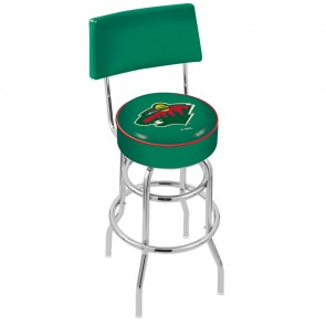 L7C4 Minnesota Wild Bar Stool
