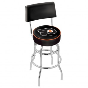 L7C4 Philadelphia Flyers Bar Stool w/Black Background