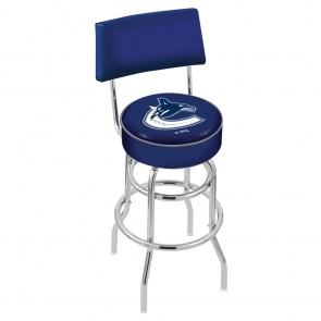 L7C4 Vancouver Canucks Bar Stool