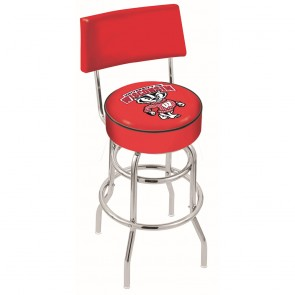 L7C4 Wisconsin Badger Bar Stool