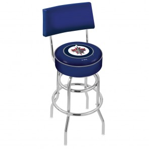 L7C4 Winnipeg Jets Bar Stool